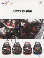 Denny Hamlin Signed NASCAR 8.5x11 Photo (JSA COA)