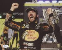 Martin Truex Jr. Signed NASCAR 8x10 Photo (JSA COA)