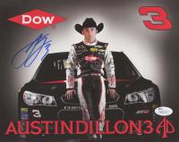 Austin Dillon Signed NASCAR 8x10 Photo (JSA COA)