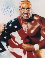 Hulk Hogan Signed 11x14 Photo (PSA COA)