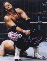 """Bret """"Hitman"""" Hart Signed 11x14 Photo (Beckett COA)"""