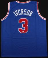 Allen Iverson Signed 76ers Jersey (JSA Hologram)