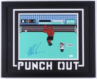 "Mike Tyson Signed ""Punch-Out!!"" 18x22 Custom Framed Photo (JSA COA)"