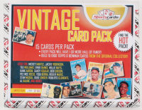 """""""VINTAGE CARD PACK"""" – Sportscards.com 1953-60's Baseball (15 Cards) Mystery Pack! at PristineAuction.com"""