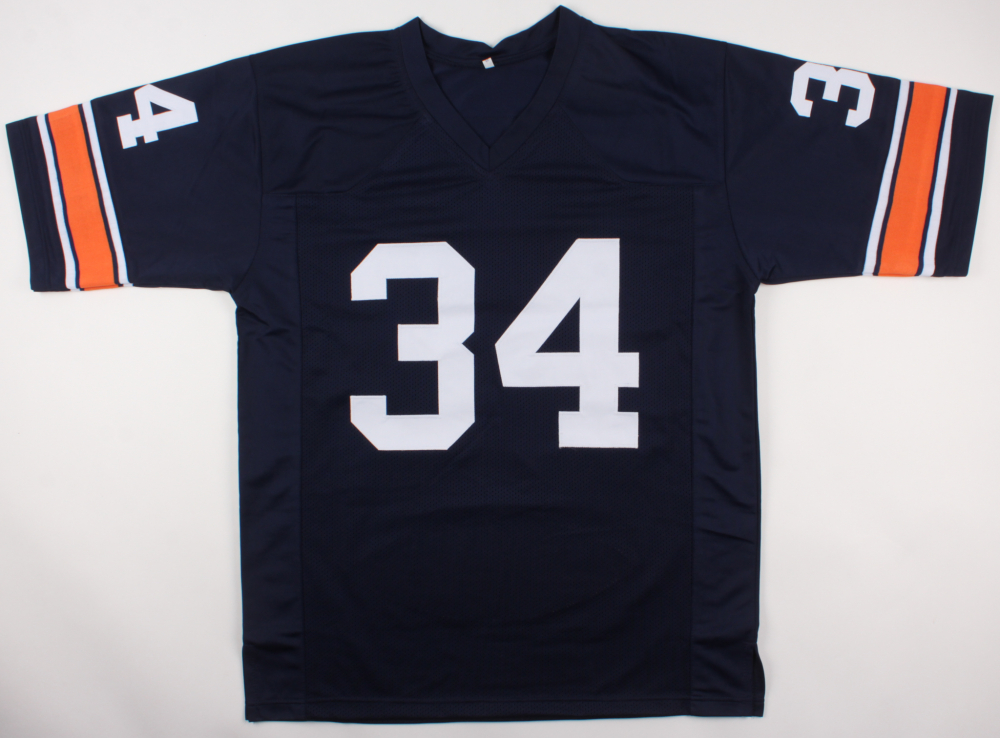 f44909a19 Bo Jackson Signed LE Auburn Tigers Jersey with Career Stat Football Panel  Inscribed