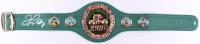 Floyd Mayweather Jr. Signed WBC Full-Size Heavyweight Champion Belt (Beckett COA)