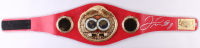 Floyd Mayweather Jr. Signed IBF Championship Belt (Beckett COA)