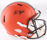 Baker Mayfield Signed Browns Full-Size Speed Helmet (Beckett COA)