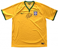 Pele Signed Brazil Nike Jersey (Beckett COA)