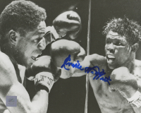 Emile Griffith Signed 8x10 Photo (Super Star Greetings COA)