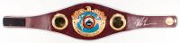 Mike Tyson Signed WBO Heavyweight Championship Belt (JSA COA)