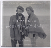 """The Making of Star Wars"" Hardback Book Signed by (7) with George Lucas, Mark Hamill, Kenny Baker, John Williams, Anthony Daniels, Peter Mayhew (Beckett LOA)"