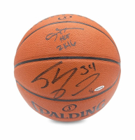 "Allen Iverson & Shaquille O'Neal Signed Limited Edition Basketball Inscribed ""2K16"" (UDA COA) at PristineAuction.com"