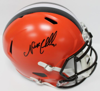 Nick Chubb Signed Browns Full-Size Speed Helmet (JSA COA)