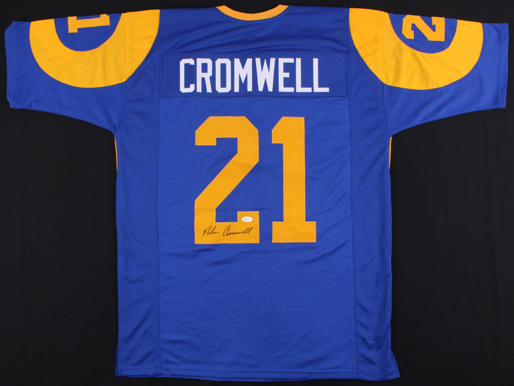 Nolan Cromwell Signed Rams Jersey (JSA Hologram) at PristineAuction.com 7efabf25c