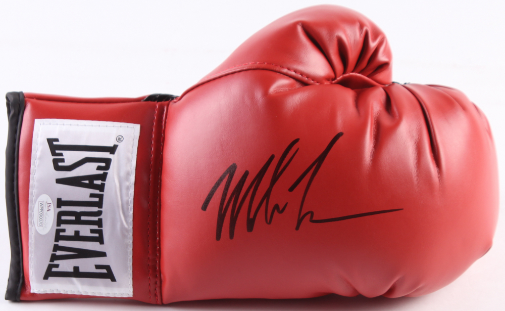 fd01f600eac Mike Tyson Signed Everlast Boxing Glove (JSA COA) at PristineAuction.com