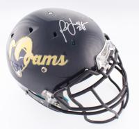 Marshall Faulk Signed Rams Full-Size Authentic On-Field Helmet (Beckett COA)