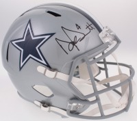 Dak Prescott Signed Dallas Cowboys Full-Size Speed Helmet (JSA COA & Prescott Hologram)