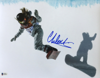 Chloe Kim Signed 11x14 Photo (Beckett COA) at PristineAuction.com