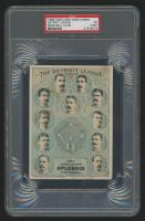 1886 Lorillard Team Cards #2 Detroit NL (PSA 1) (MK)