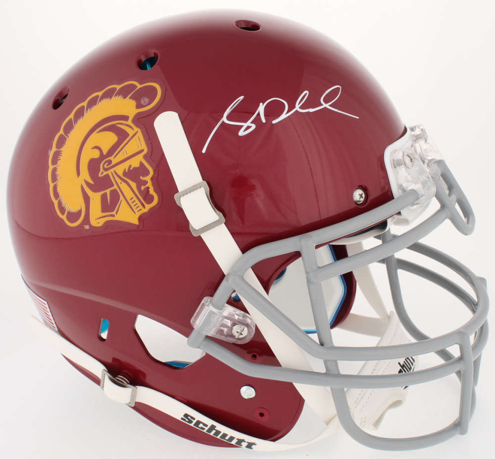 70e115cf9 Sam Darnold Signed USC Trojans Full-Size Authentic On-Field Helmet (Beckett  COA