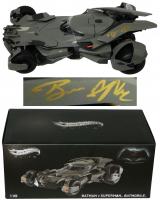 "Ben Affleck Signed ""Batman v Superman"" 1:18 Hot Wheels Elite Batmobile (Beckett COA) at PristineAuction.com"