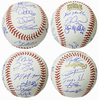 2016 Cubs World Series Series Baseball Team-Signed by (22) with Ben Zobrist, Theo Epstein, Javier Baez, Kyle Hendricks, Addison Russell (Schwartz COA) at PristineAuction.com