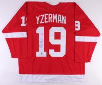 Steve Yzerman Signed Detroit Red Wings Jersey (Beckett COA & Yzerman Hologram)
