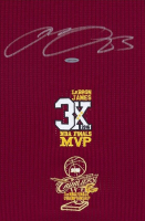 "LeBron James Signed Cleveland Cavaliers ""3x MVP"" & ""16 Finals"" Patch Jersey (UDA COA) at PristineAuction.com"