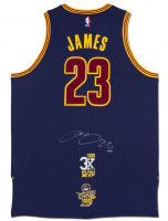 "LeBron James Signed Cleveland Cavaliers ""3x MVP"" & ""16 Finals"" Jersey (UDA COA)"