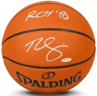 "Ben Simmons Signed Limited Edition Spalding Basketball Inscribed ""ROY '18"" (UDA COA) at PristineAuction.com"