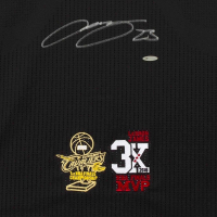 "LeBron James Signed Cleveland Cavaliers Adidas ""3x MVP"" & ""16 Finals"" Patch Pride Jersey (UDA COA) at PristineAuction.com"