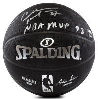 "Charles Barkley Signed LE Basketball Inscribed ""NBA MVP 93"" (Panini COA) at PristineAuction.com"