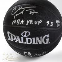 "Charles Barkley Signed LE Basketball Inscribed ""NBA MVP 93"" (Panini COA) at PristineAuction.com"