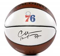 Charles Barkley Signed Philadelphia 76ers Logo Basketball (Panini COA) at PristineAuction.com