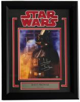 "Dave Prowse Signed ""Star Wars"" 14x19 Custom Framed Photo Display Inscribed ""Darth Vader"" (Steiner COA)"