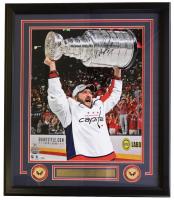 Alexander Ovechkin Signed Washington Capitals 22x29 Custom Framed Photo Display (Fanatics Hologram)