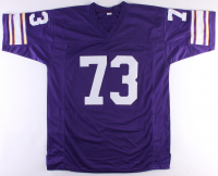 "Ron Yary Signed Vikings Jersey Inscribed ""HOF 01"" (JSA COA) at PristineAuction.com"