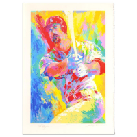 "Leroy Neiman & Mark McGwire Signed ""Mark McGwire"" Limited Edition 33x47 Serigraph #294/509"