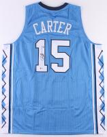 Vince Carter Signed North Carolina Tar Heels Jersey (Beckett COA) at PristineAuction.com