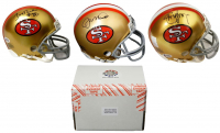 San Francisco 49ers Signed Mystery Box Mini Helmet – World Champions Edition - Series 2 - (Limited to 116) **Montana Jersey Redemption**