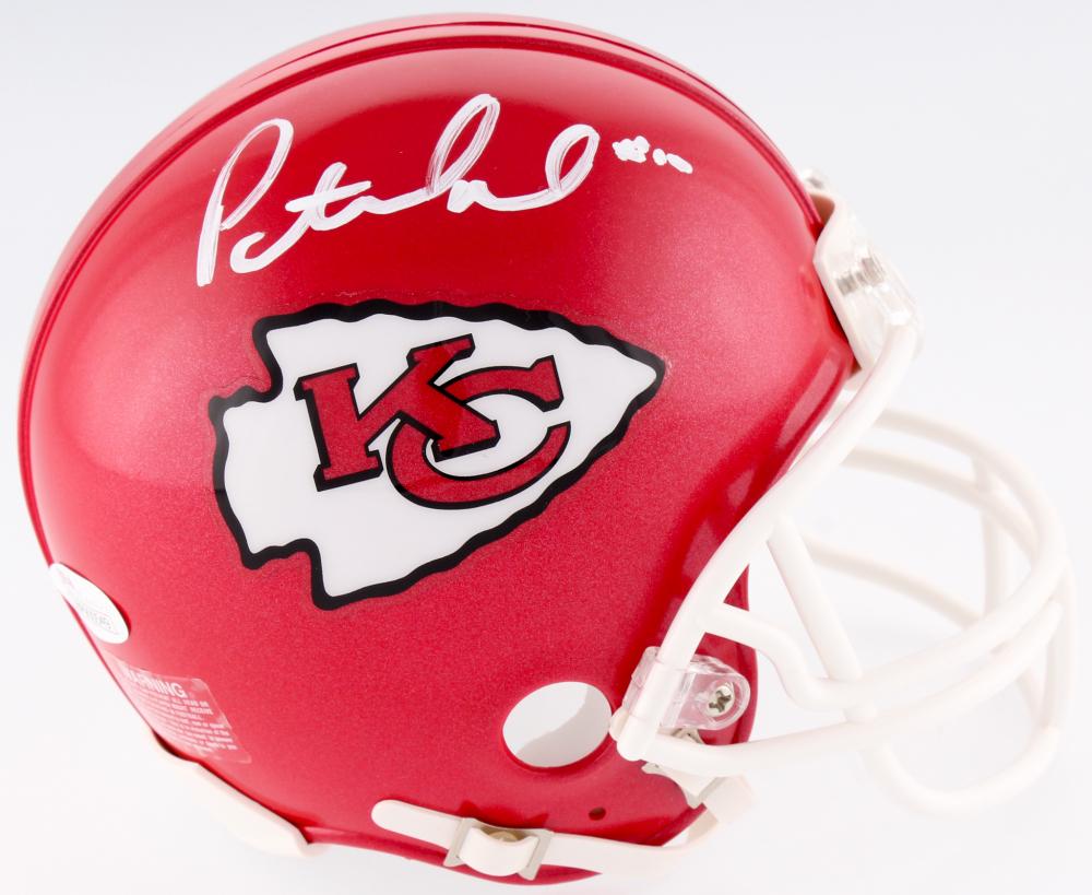 f23af8b01cf Patrick Mahomes II Signed Chiefs Mini Helmet (JSA COA) at  PristineAuction.com
