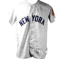 Mickey Mantle Signed Yankees Jersey (JSA COA)