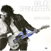 "Bruce Springsteen Signed ""Born To Run"" Vinyl Record Album Cover (PSA Hologram)"