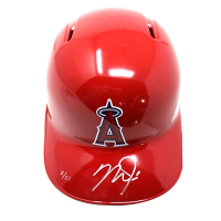 Mike Trout Signed Angels LE Full Size Batting Helmet (MLB)