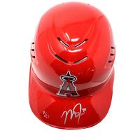Mike Trout Signed LE Angels Full Size Batting Helmet #/27 (Steiner COA & MLB)