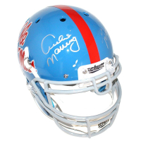 Archie Manning & Eli Manning Signed Ole Miss Rebels Full Size Authentic Proline Helmet (Steiner COA)