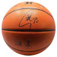 Stephen Curry Signed Spalding 2017 NBA All Star Game Logo Basketball (Steiner COA) at PristineAuction.com
