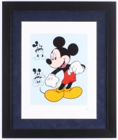 "Walt Disney ""Mickey Mouse"" 16x19 Custom Framed Serigraph Cel"