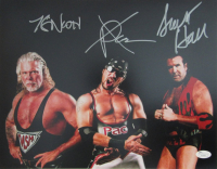 Kevin Nash, X-Pac & Scott Hall Signed WWF 11x14 Photo (JSA COA)